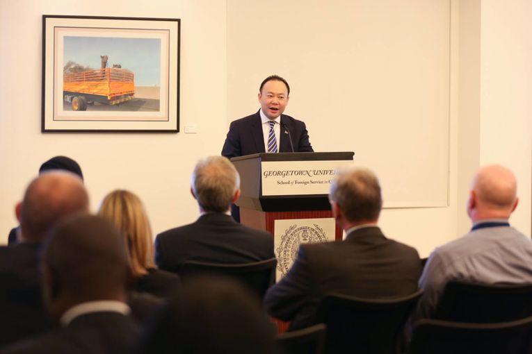 Australia's ambassador to the UAE and Qatar, Pablo Kang