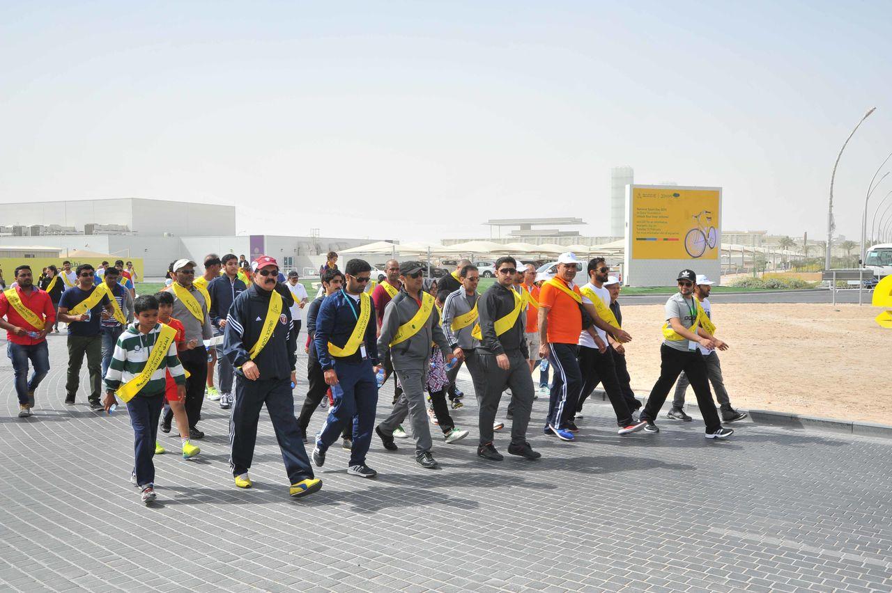 National Sport Day at Qatar Foundation
