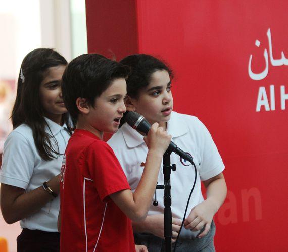 Qatar Academy student leaders