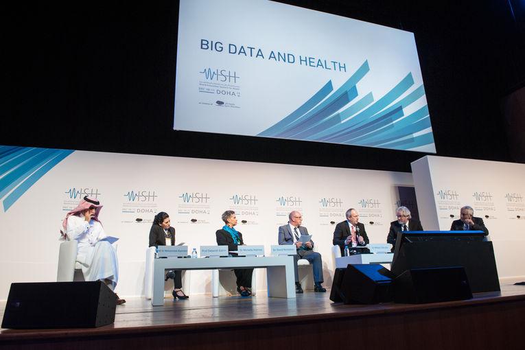 Big Data- HE Dr. Mohammed Alyemeni, Prof. Deborah Estrin, Dr. Michelle Holmes, Sir David Nicholson, Dr. Miklos Szocska, Prof. Sa