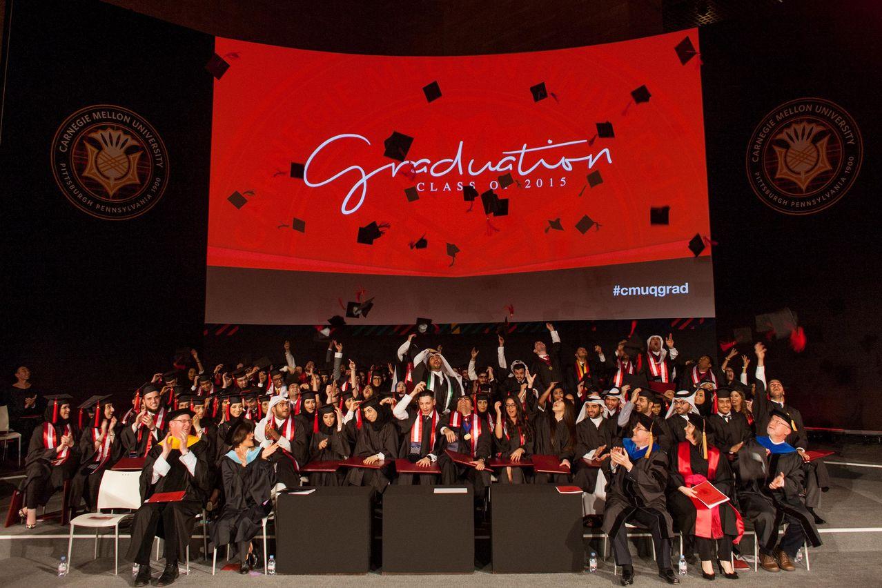 CMU-Q Graduation