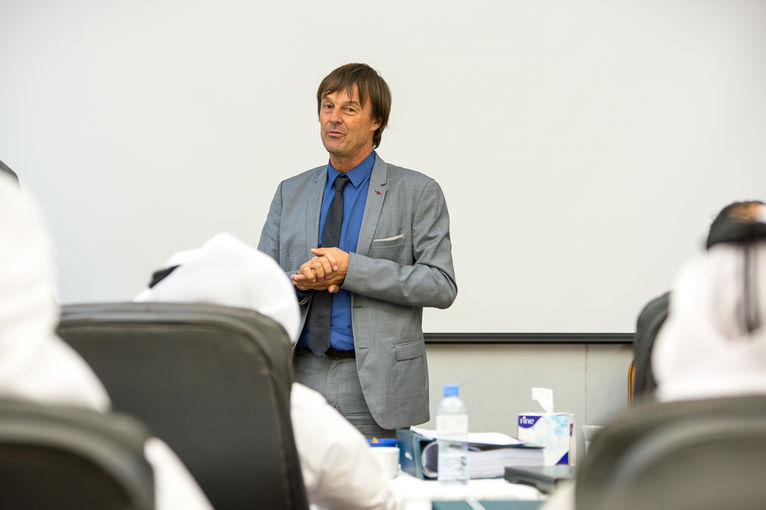 Mr Nicolas Hulot, Special Envoy of French President Francois Hollande