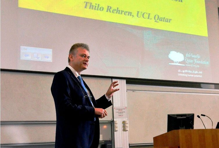 Dr Thilo Rehren, the Director of University College London Qatar-web.jpg