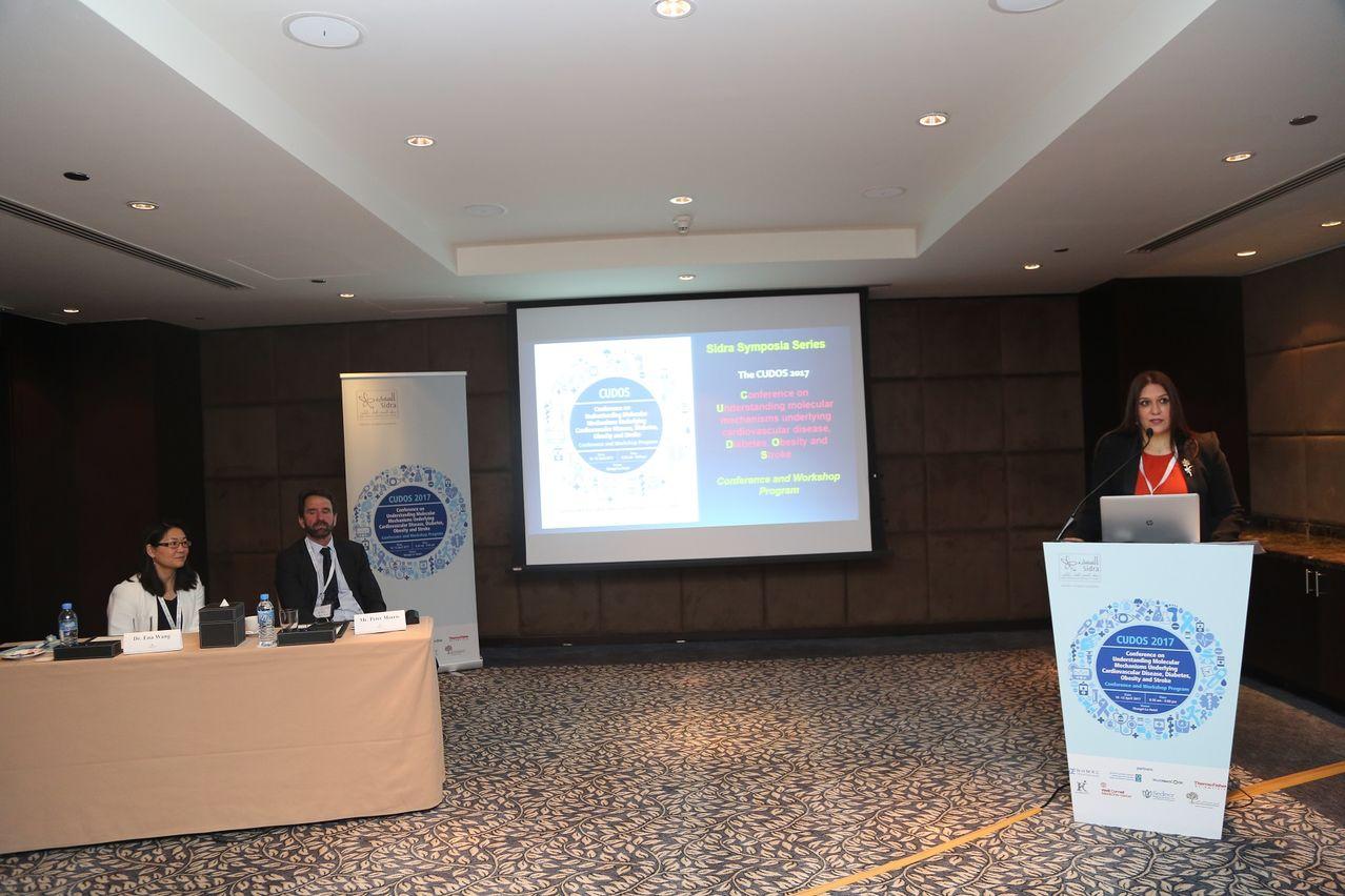 Dr. Ammira Akil opens CUDOS 2017.JPG