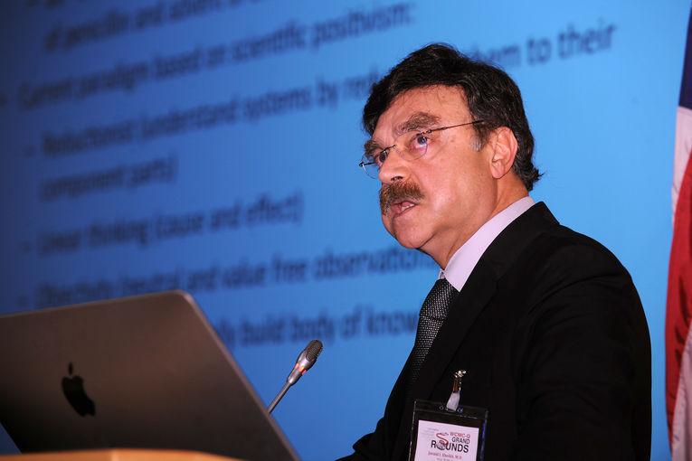 Dr Javaid Sheikh, Dean of Weill Cornell Medical College in Qatar