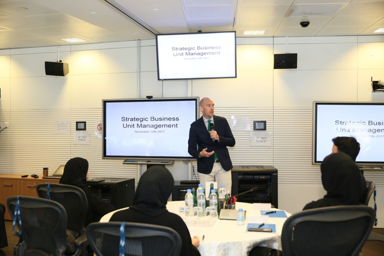 Dr.%20Nils%20Plambeck%20–%20Dean%20and%20CEO%20of%20HEC%20Paris%20in%20Qatar%20welcoming%20participants.JPG