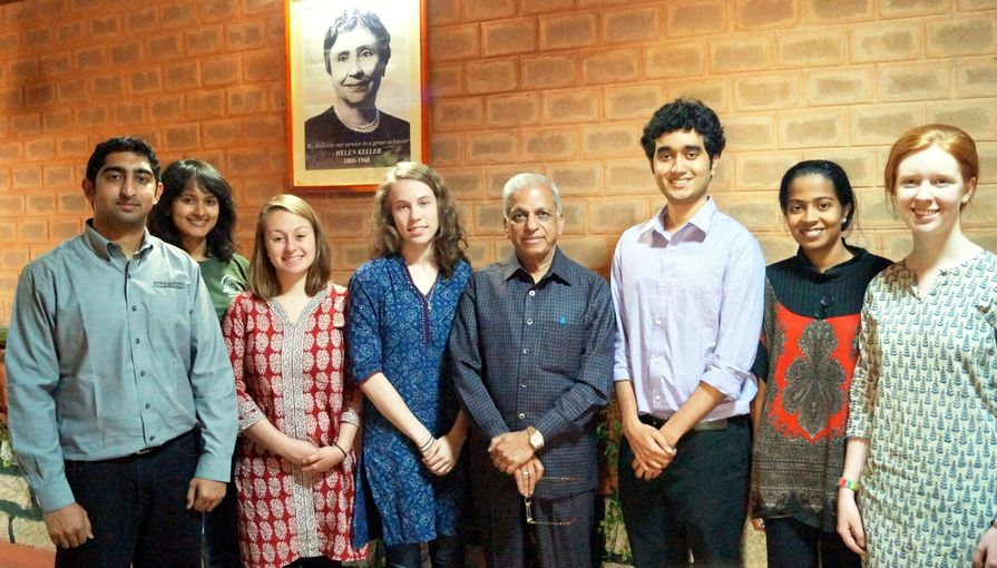 Eight Carnegie Mellon students are spending the summer in Bangalore after being selected to join the 2013 iSTEP internship.JPG