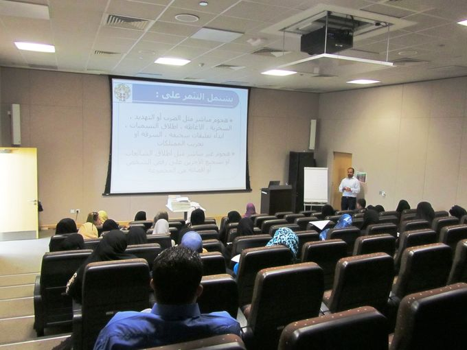 Emad Al Makahleh, Awsaj Academy Counsellor, during his workshop.jpg