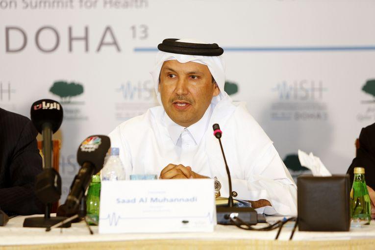 Engineer Saad Al Muhannadi, President, Qatar Foundation.JPG