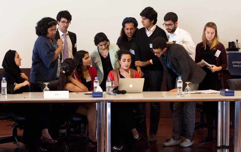 GU-Q Students Negotiate.jpg