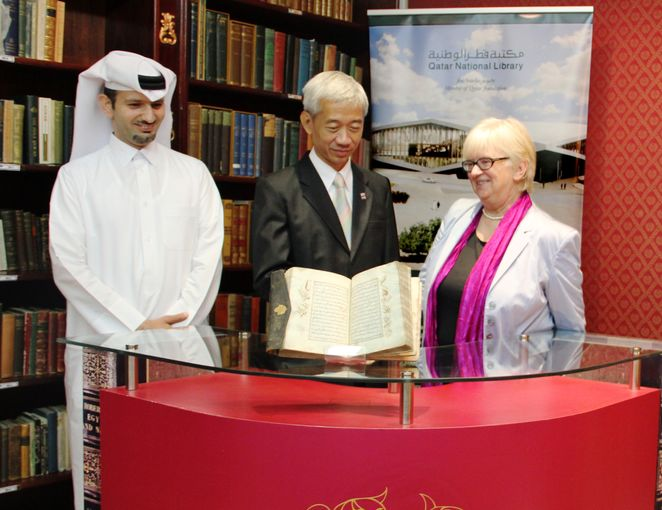 H.E. Thai Ambassador, Dr. Claudia Lux and Saadi A. Al Said.jpg