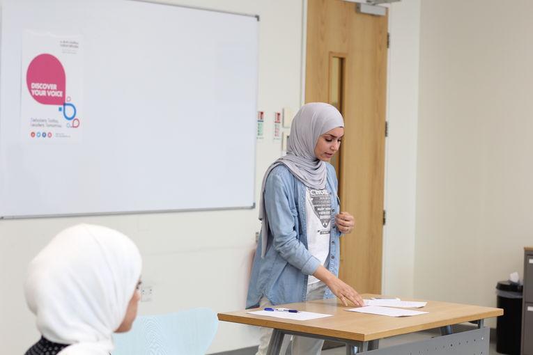 The 1st Qatar Universities Debate League in English