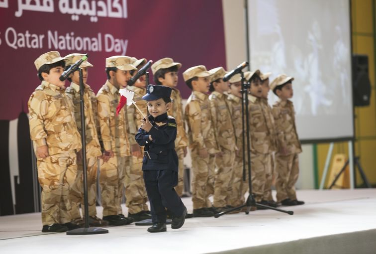 QF Academies Participate in National Day Celebrations