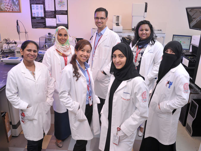Researchers at Weill Cornell Medical College in Qatar