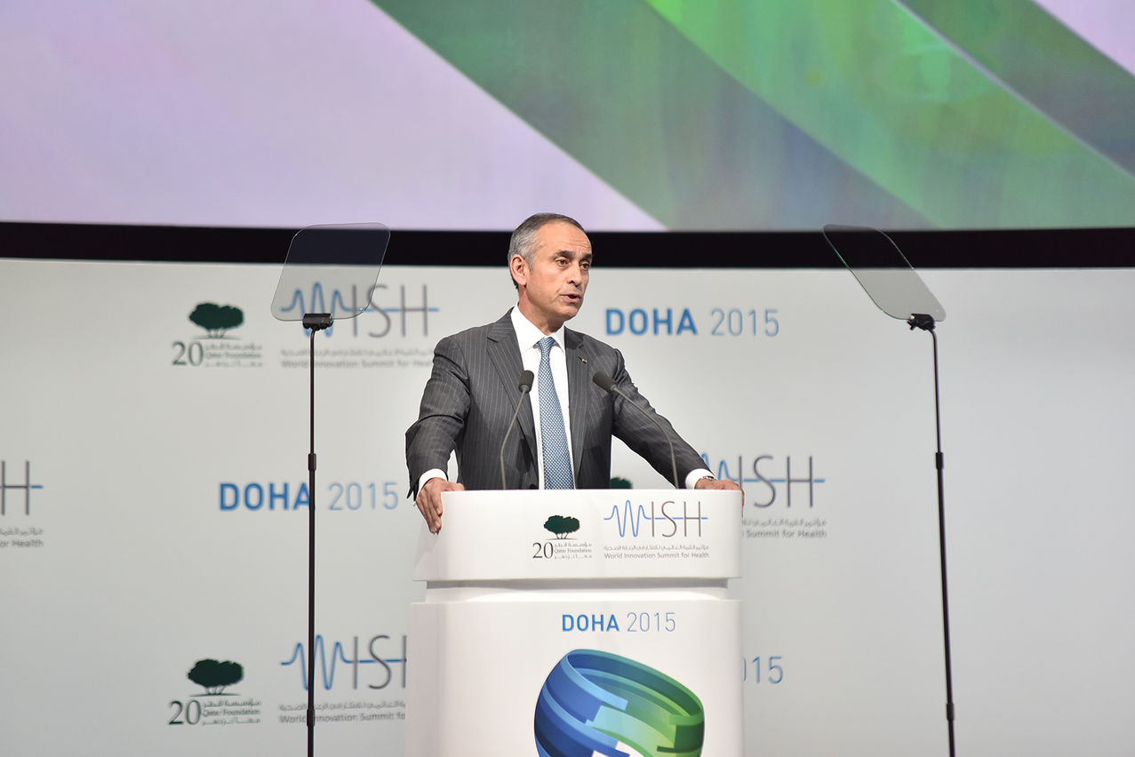 Lord Darzi at the World Innovation Summit for Health