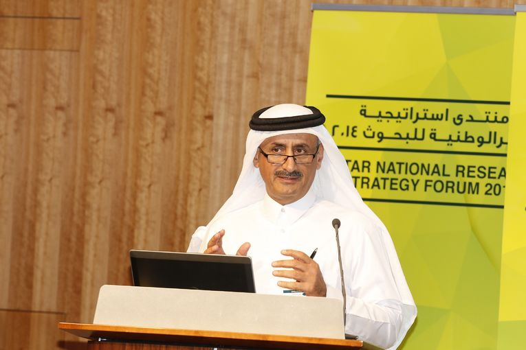 Mr Faisal M. Alsuwaidi, President of Research and Development at Qatar Foundation