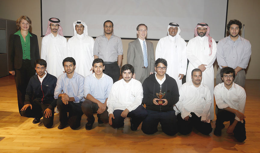 ORYX GTL Award during Awsaj First Environmental Fair.jpg