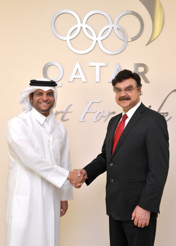 Qatar Olympic Committee has become a strategic partner in Sahtak Awalan