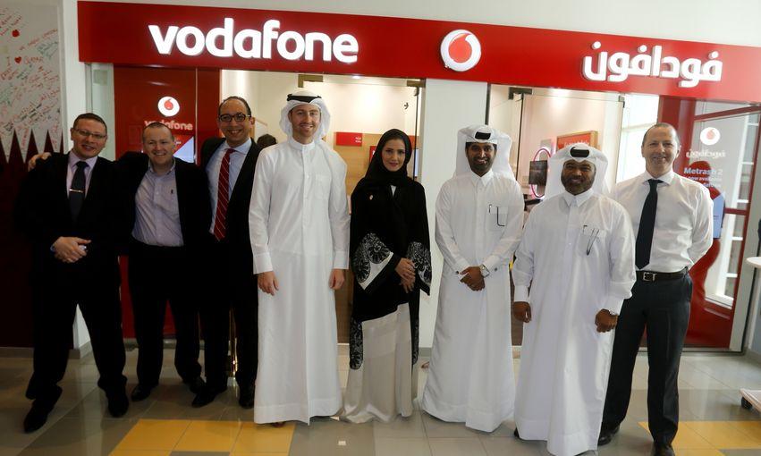 Qatar Foundation's Vodafone Falla-flagship store