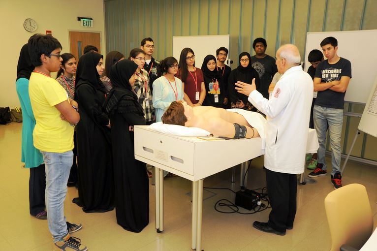 Photo 1 - Participants at the Clinical Skills Center.JPG