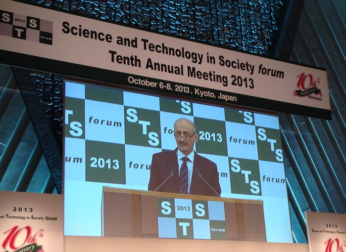 President of Research and Development at Qatar Foundation Speaking at the Science and Technology in Society (STS)
