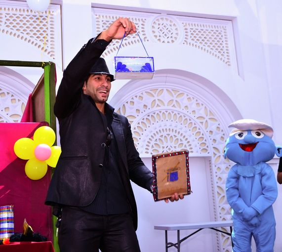 The Buddy Carnival took place on 15 May at the Qatar Foundation Recreation Centre