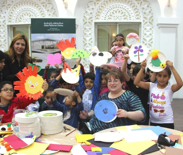 QNL's Head of Children's Services, Carol Mitchell and QNL's Head of Communications, Gihan Baraka with the Children