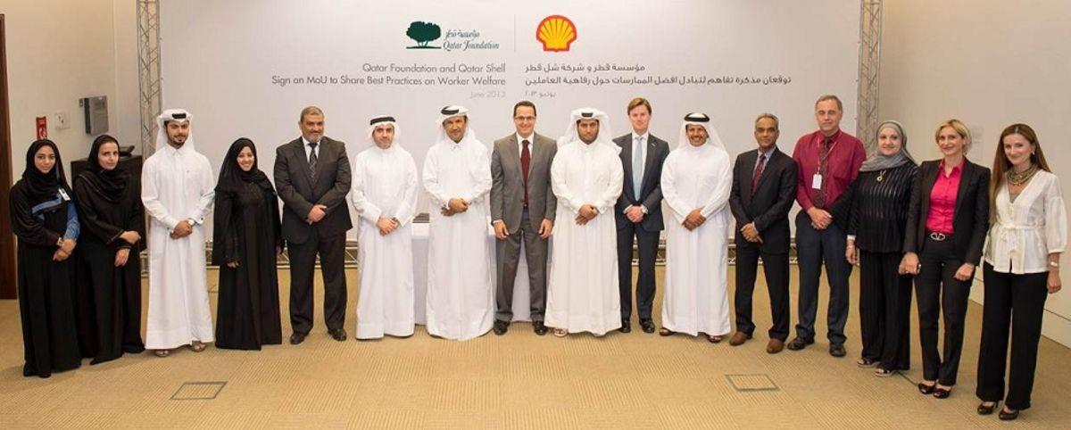 Qatar Foundation partners with Qatar Shell
