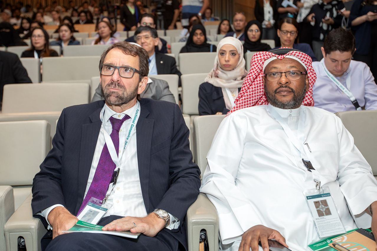 Sidra Medicine's CEO Peter Morris and Dr Rashid Al Ali.jpg