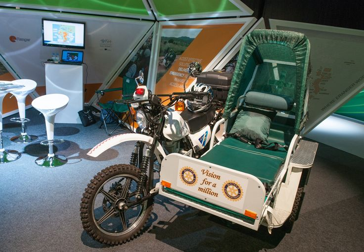 The e-Ranger Ambulance, awarded Best Innovation Showcase at the inaugural WISH summit.jpg