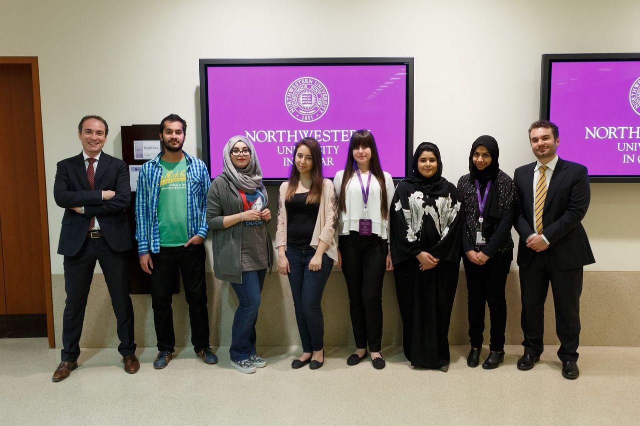 فودافون قطر وجامعة نورثويسترن