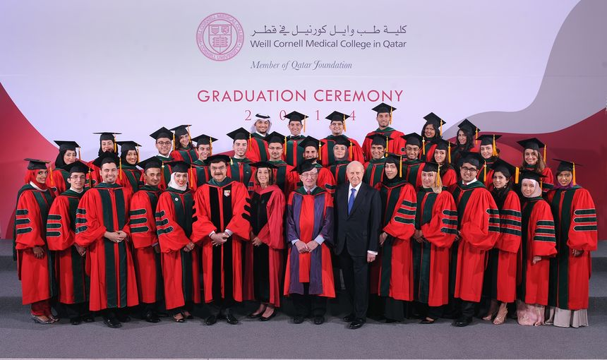 Graduation Ceremony Honors Qatar's Newest Doctors