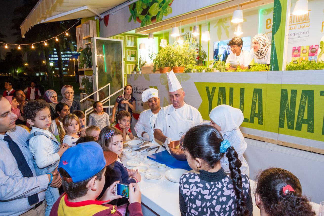 Yalla Natural Joins International Food Festival