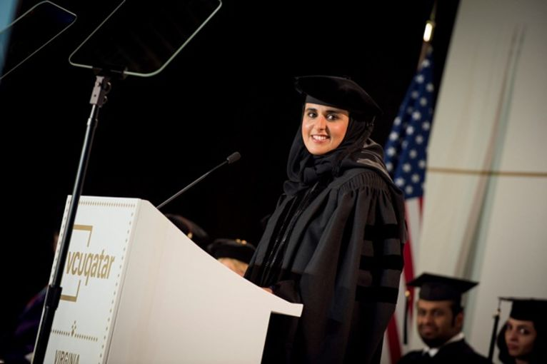 Her Excellency Sheikha Al Mayassa bint Hamad bin Khalifa Al Thani